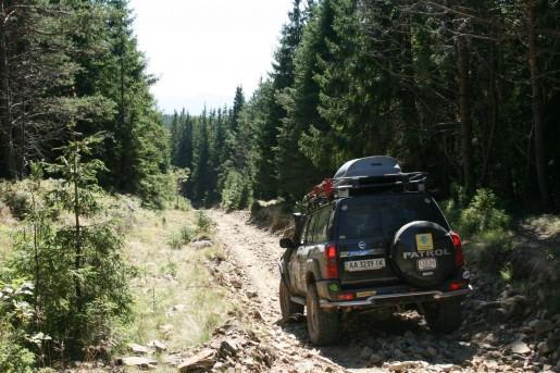 По дороге к полонине Щивка