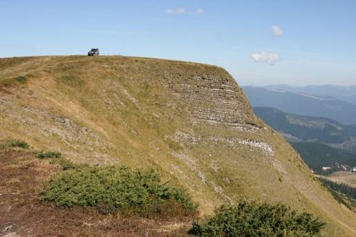 На горе Жандарм (1763м)
