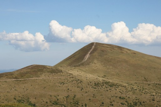 Вид на гору Стог (1704м)
