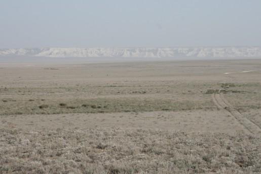 По пути к плато Актолагай