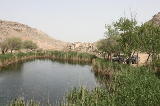 Озеро у источника Ташмалы