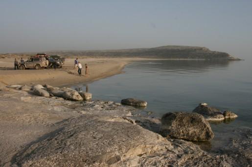 Голубая бухта, Каспий