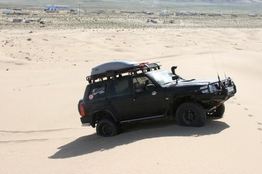 Песчаные барханы у поселка Сенек
