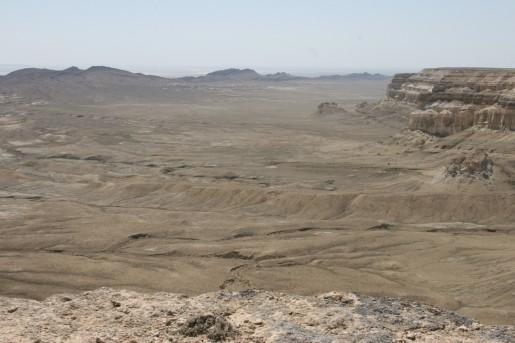 Северная часть впадины Карын-Жарык - хребет Карамая