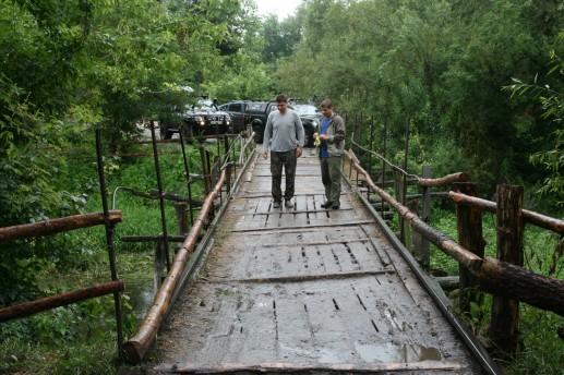 Железодеревянный мост
