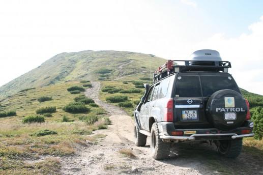 По дороге на гору Поп Иван Черногорский
