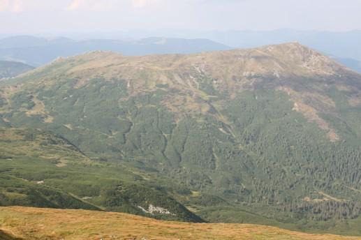 Виды с вершины горы Поп Иван Черногорский