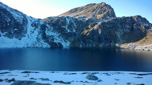 Озеро Почка на закате