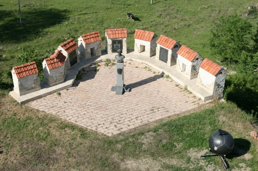 Памятник Мюнхгаузену в Бендерской крепости