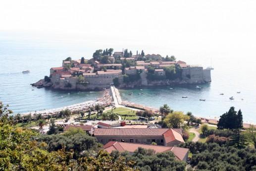 Остров-отель Святой Стефан