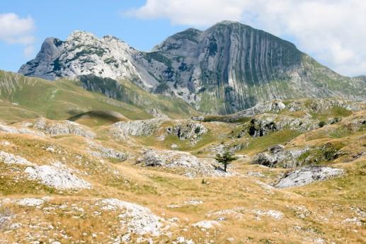 Национальный парк Дурмитор, вид на гору Боботов-Кук