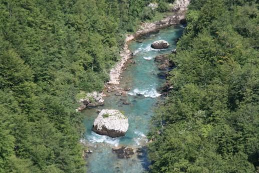 Вид на реку Тара с моста Джурджевича
